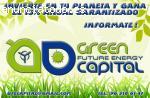 GREEN-CAPITAL OFRECE BENEFICIOS SEGUROS POR TU INVERSIÓN