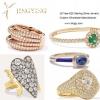 925 sterling silver rings fine jewelry c