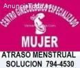 atraso menstrual Los Olivos 7944530