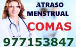 Atraso Menstrual S.J.L 977153847 comas