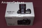 Cámara DSLR Canon EOS 5D Mark IV 30.4MP
