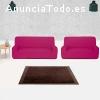 Combinado fundas duo sofás 3 + 2 plazas