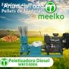 la maquina peletizadora diesel MKFD300A