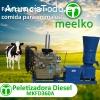 la maquina peletizadora diesel MKFD360A