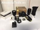Nikon D800 lente y accesorios, disparado