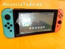 Nintendo Switch console con 4 juegos€150