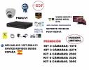 OFERTA KIT VIDEOVIGILANCIA INTERIOR HD