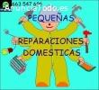 Pequeñas reparaciones domésticas.