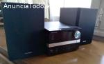 Pioneer X-EM12 Microcadena USB Negra