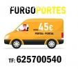 Portes baratos Alcorcón: 625700540(=45€)
