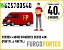 Portes baratos (*Fuencarral*)625≡700540
