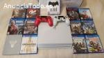 PS4 Pro 1TB console con 8 juegos €136