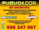 PUBLICADOR DE ANUNCIOS PROGRAMA