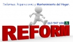 Reformas y mantenimiento del hogar.