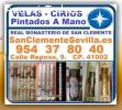 ⭐ SEVILLA, Velas Y Cirios Artesanales, P