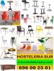 sillas y mesas en hosteleria sur